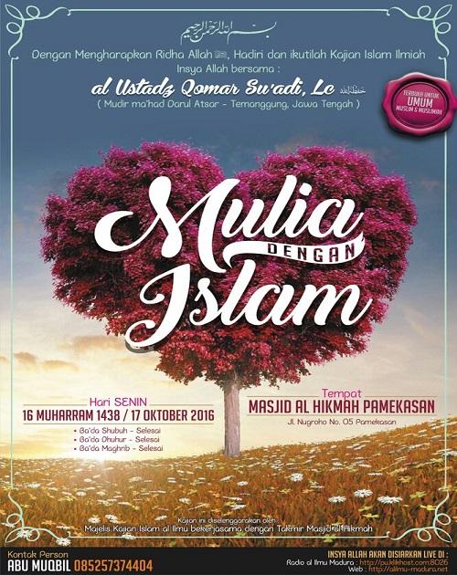 [AUDIO]: Mulia dengan Islam