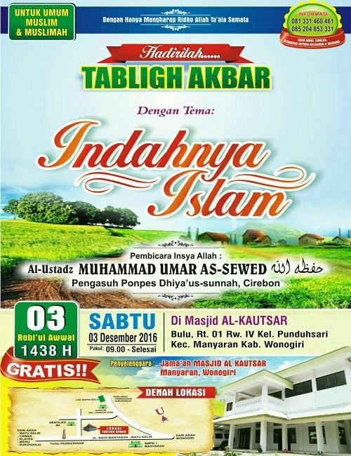 [AUDIO]: Indahnya Islam