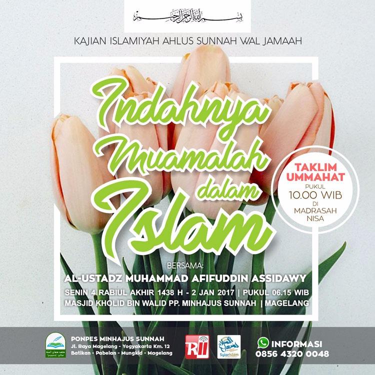 [AUDIO]: Indahnya Muamalah Dalam Islam