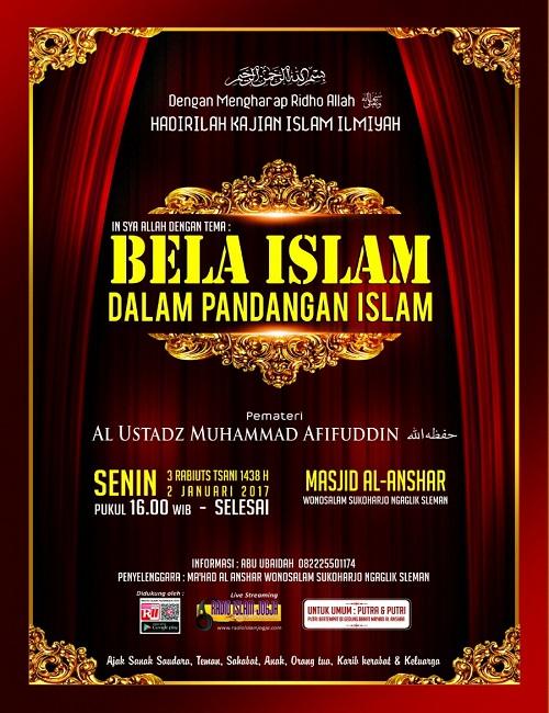 [AUDIO]: Bela Islam dalam Pandangan Islam