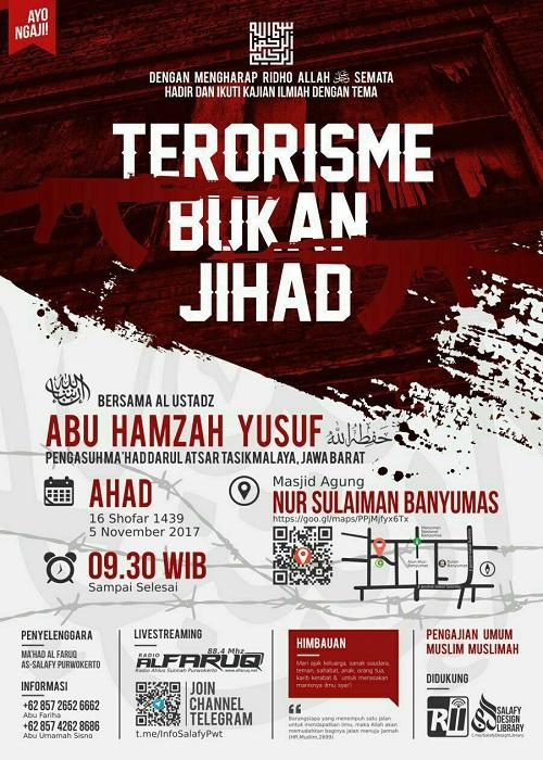 {AUDIO]: Terorisme Bukan JIHAD