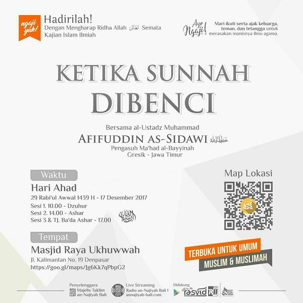 [AUDIO]: Ketika Sunnah Dibenci