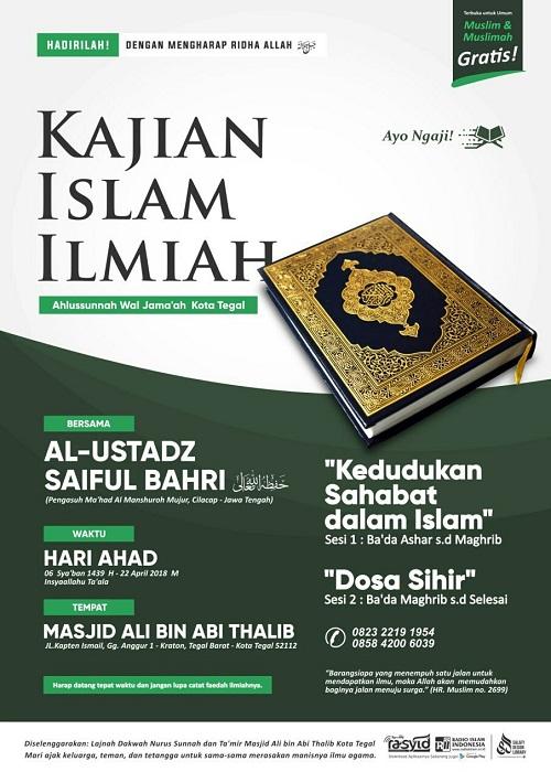 [AUDIO]: Kedudukan Sahabat Dalam Islam & Dosa Sihir